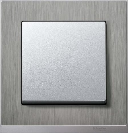 Клавиша Schneider Electric для выключателя двухклавишного белый MTN432519