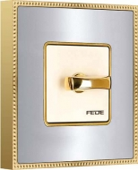 Fede belle epoque gold-chrome